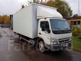 Mitsubishi Canter. Fuso мебельный фургон с аппарелью, 3 000 куб. см., 3 500 кг.