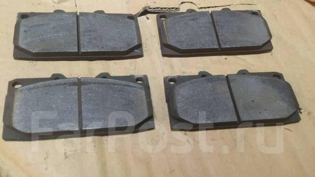 Колодки Subaru 4pot 2pot тормозные Project mu HGCS. Subaru Impreza WRX STI, GC8, GD, GDB Двигатель EJ207