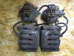 Рабочая тормозная система. Toyota Mark II, JZX110 Двигатель 1JZGTE