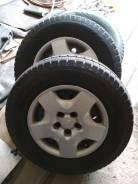 Комплект колес зимних TOYO Tranpath, в сборе 215/70R15, - 2015г. вып. x15 5x114.30 ЦО 66,1мм.