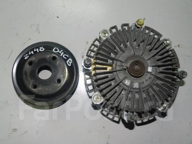 Вискомуфта. Kia Sorento, BL Двигатели: D4CB, A, ENG