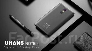 "Новинка,! Uhans Note 4 - Black 5.5"" 4G FHD 3GB/32GB ROM 4000mAh. Новый"