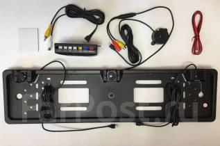 Рамка с камерой заднего вида и парктрониками