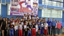 Семейные тренировки детей с родителями от 3 лет по боксу и кикбоксингу