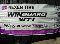 Nexen Winguard WT1. Зимние, без шипов, 2017 год, без износа, 4 шт