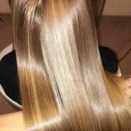 Кератиновое выпрямление волос Восстановление волос Ботокс