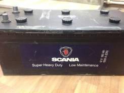 Аккумулятор Scania 180 ач, пусковой ток 1050 А. 180 А.ч., Обратная (левое), производство Европа