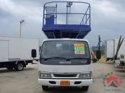 Isuzu Elf. автовышка-платформа Tadano AT150, 17 метров, 5 000куб. см., 17м. Под заказ