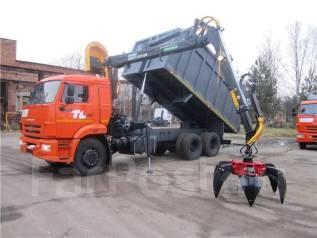 Майман-110S. КМУ Ломовоз КамАЗ-65115-773094-42(Евро 4), кузов 30 куб., , 12 000 куб. см., 19 000 кг.
