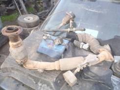 Приемная труба глушителя. Toyota Corolla, CE100G, CE100 Двигатель 2C