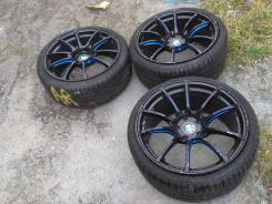 Комплект 3-х колес на BMW WEDS SA-55M на новом лете Pirelli 255/30 R19. 9.5/8.5x19 5x112.00 ET35/35