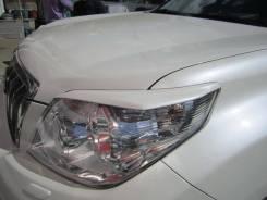 Накладка на фару. Toyota Land Cruiser Prado, KDJ150L, TRJ12, GRJ150W, GRJ151W, TRJ150W, GRJ150L Двигатели: 1KDFTV, 1GRFE, 2TRFE