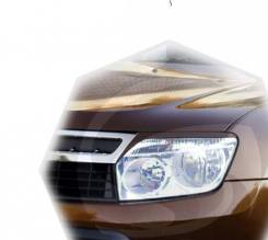 Накладка на фару. Renault Duster, HSA, HSM F4R, K4M, K9K