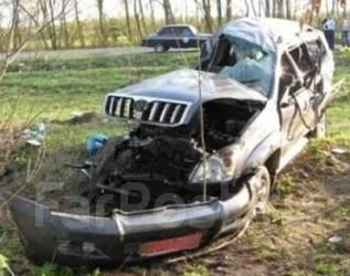 Toyota Land Cruiser Prado. Продам птс 2003 кузов 120 европеец Серый.1GR