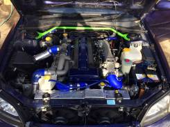 Двигатель в сборе. Toyota Mark II, JZX81, JZX90, JZX100 Toyota Chaser, JZX90, JZX81 Toyota Cresta, JZX81, JZX90 Subaru Legacy B4, BE5, JZX100, JZX90 Д...
