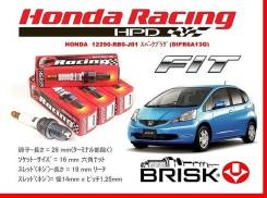 Свеча зажигания. Honda Fit, DBA-GE7, DBA-GE6 Honda Jazz Двигатели: L13A, L12B2, L12B1, L13Z1, L15A7, L13Z2
