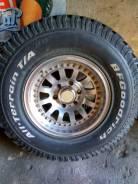 Продам комплект колёс R16. 8.0x16 6x139.70 ET0 ЦО 110,0мм.