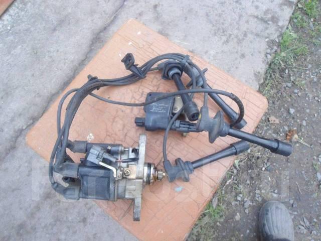 Катушка зажигания и трамблер. Daihatsu Pyzar Двигатель HEEG