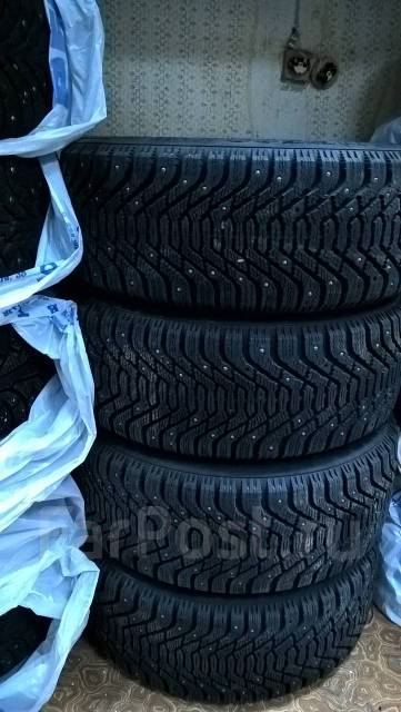 Зимние колеса в сборе на BMW 5-й серии Е60хi (полный привод) Goodyear. 7.5x17 5x120.00 ET43 ЦО 72,6мм.
