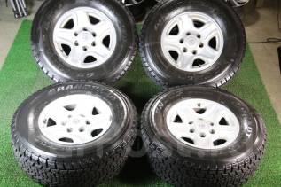 Отличные зимние Dunlop SJ5 265/70/16 на литье Prado 15/7/16. 7.0x16 6x139.70 ET15