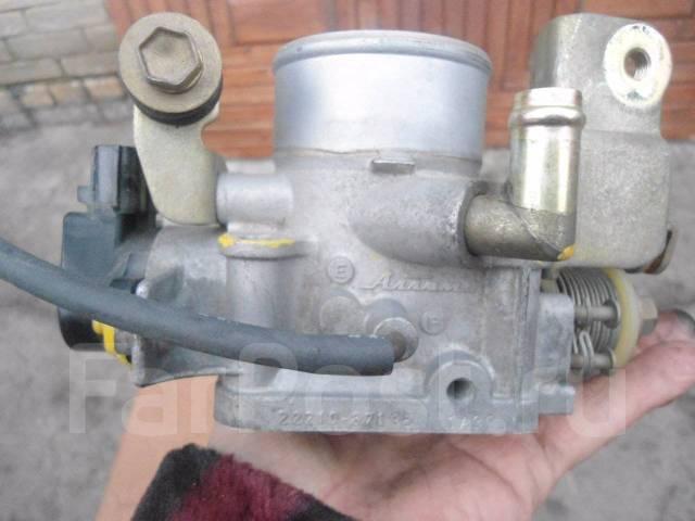 Заслонка дроссельная. Daihatsu Pyzar, G303G, G301G Daihatsu Gran Move Двигатель HEEG