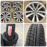 205/60R16 Bridgestone Revo GZ новая зима + Toyota wish. 6.0x16 5x100.00 ET45 ЦО 54,1мм.
