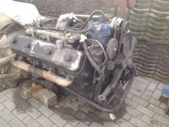 Двигатель в сборе. Краз