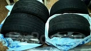 Летние колеса в сборе на BMW 5-й серии Е60хi (полный привод) разношир. 8.0/9.0x18 5x120.00 ET43/43 ЦО 72,6мм.