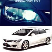 Накладка на фару. Honda Civic, FD2, EK3, FD1, FD7, FD3, EK9, EK4, EK2 Двигатели: DAAFD3, R18A, D15B, D13B, R18A2, B16A, K20A, R18A1, LDAMF5, B16B