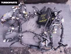 Проводка под радиатор. Toyota Prius, NHW20 Двигатель 1NZFXE