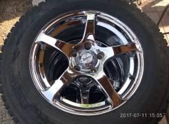 Продам комплект заряженных зимних шипованных колес. x16 5x114.30