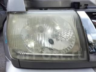 Фара. Mitsubishi Pajero Mini, H58A, H53A