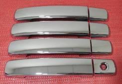 Накладка на ручки дверей. Nissan Qashqai, J10 Двигатели: HR16DE, MR20DE