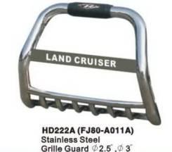 Кенгурятники. Toyota Land Cruiser, FZJ80J, HZJ80, FJ80G, FZJ80, FJ80, HDJ80, J80, FZJ80G Двигатели: 1FZFE, 1HZ, 3FE, 1FZF, 3F, 1HDT, 1HDFT