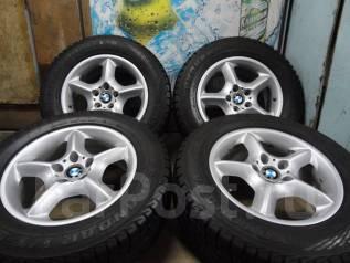 Продам Отличные Стильные колёса BMWX5+Зима Жир 235/65R17. 7.5x17 5x120.00 ET40