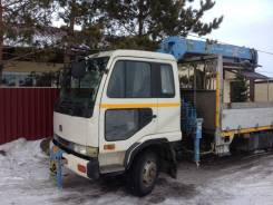Nissan Diesel. Nissan diesel, 6 925 куб. см., 5 000 кг., 4 м.
