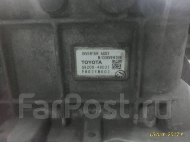 Инвертор. Toyota Harrier Hybrid, MHU38W Lexus RX400h Двигатель 3MZFE