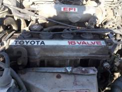 Двигатель в сборе. Toyota: Corona Exiv, Mark II, Caldina, Corona, Chaser, Carina ED, Curren, Vista, Camry, Crown, Carina, Cresta Двигатель 4SFE