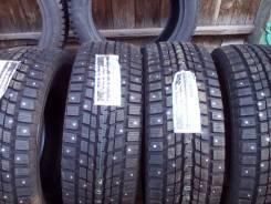 Dunlop. Зимние, шипованные, без износа, 4 шт