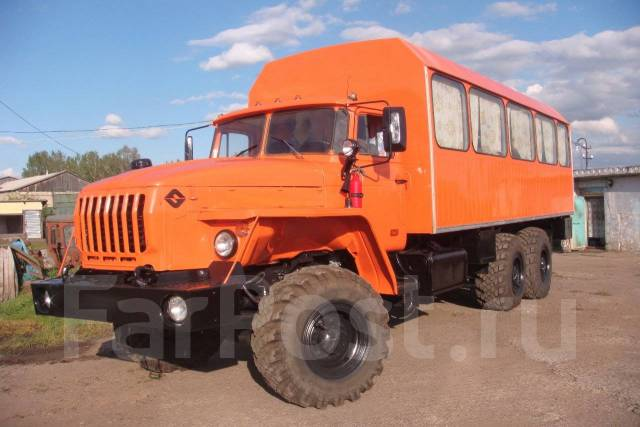 Урал 44202. вахта