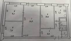 4-комнатная, проспект Интернациональный 37/2. Центрмльный, частное лицо, 63 кв.м.