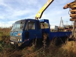 Nissan Condor. Бортовой грузовик с манипулятором , 6 925 куб. см., 5 000 кг.