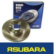 Диск тормозной. Subaru Legacy, BD4, BP5, BP9, BL5, BL9, BG5, BGA, BPE, BRF, BLE, BD5, BM9, BR9, BH5, BMG, BG4, BRG, BPH Subaru Forester, SJG Subaru Im...