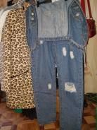 Комбинезоны джинсовые. 42