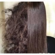 Кератиновое выпрямление . Ботокс для волос. Нанопластика.