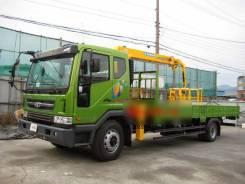 Daewoo Novus. 4x2 CC6CT низкорамный c краном Soosan SCS 513 SD, 5 890 куб. см., 5 000 кг.
