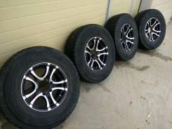 209) комплект колес на джип R16. 7.5x16 6x139.70 ET0