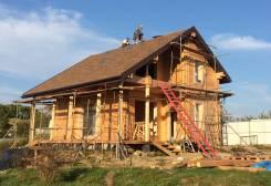 Сборка домокомплектов, домов, бань и других конструкций из дерева/бруса