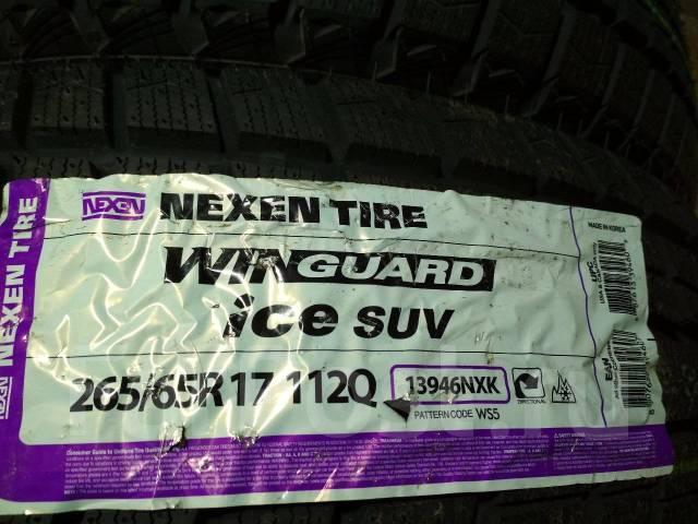 Nexen Winguard Ice Suv. Зимние, без шипов, 2015 год, без износа, 4 шт