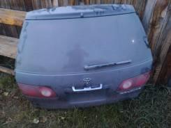 Дверь багажника. Toyota Caldina, AT211, AT211G Двигатель 7AFE